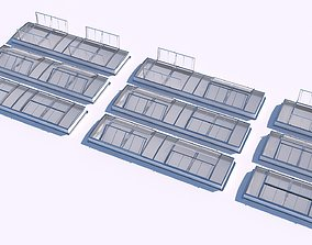 3D Clerestory SkyLight with variable windows positions
