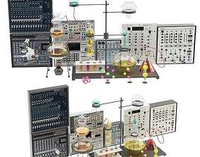 medical laboratory 4 3D model