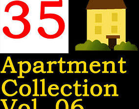 3D model Apartment Collection Vol 06