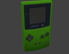 Gameboy Color 3D asset