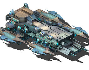 Battlestar - Pier 03 3D model