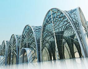 Futuristic Interior Scene 2 3D