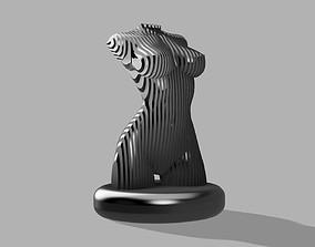women sculpture 3D printable model