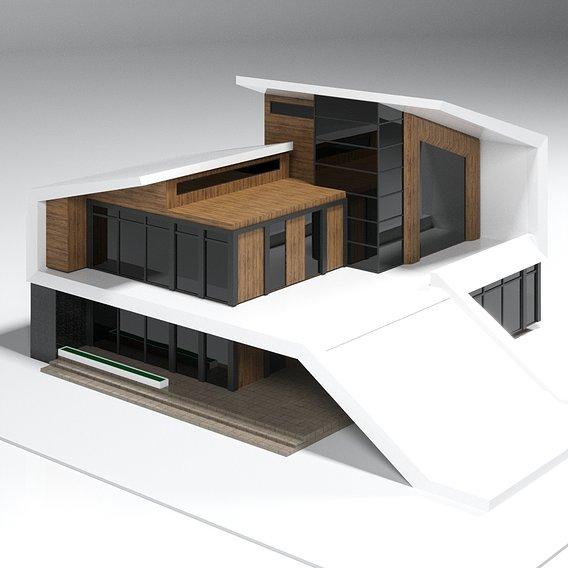 SAMART house 3d model