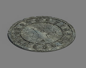 institute 3D Zhaoshan - relics disc pattern