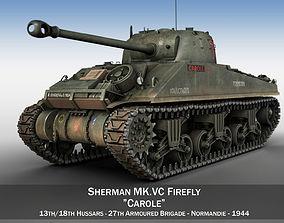 Sherman MK VC Firefly - Carole 3D model