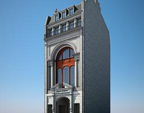 Old Building XXI 3D model