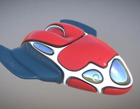 Space ship ll 3D asset