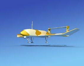 Mohajer 4 Drone V03 3D
