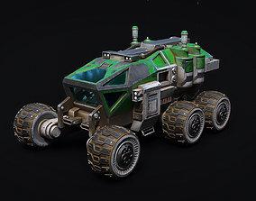 Vehicle Mars Rover 8K TEXTURES 3D asset
