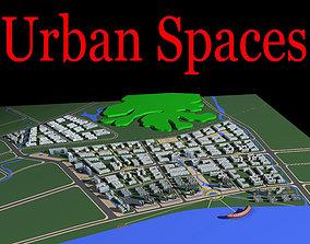 Classy Urban Cityscape 3D model