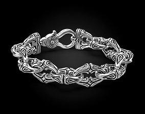 3D printable model Bracelet for a real biker 2