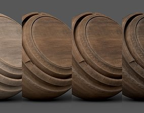 3D Substance Painter Wood 1 Smart Material