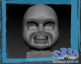 3D printable model Childs Play 2 Chucky Skull