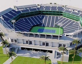 3D asset Indian Wells Tennis Garden - Stadium 1