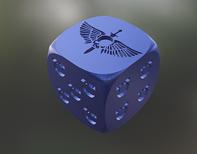 3X SPACE MARINES 16 MM DICE FOR 40K 3D printable model