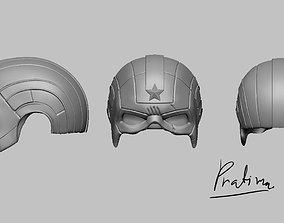 3D print model Red guardian mask for mavel legend