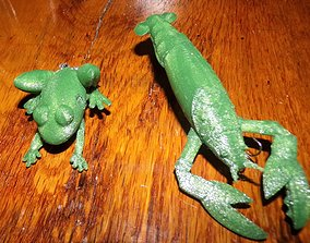3D print model Crayfish and Frog fishing Lures