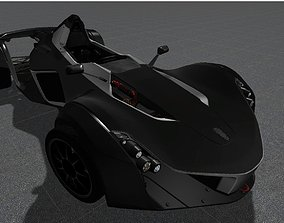 3D asset BAC MONO