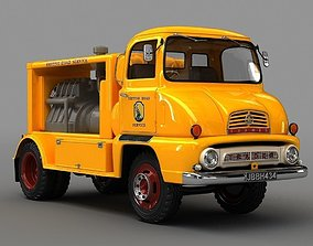 Thames Compressor Lorry 1958 3D model road