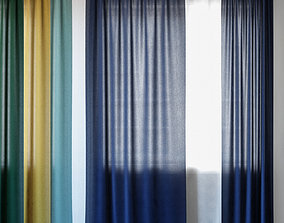 3D Curtains 124 Wayfair Basics Solid Room Darkening 1