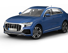 3D model Audi Q8 2020