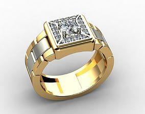 Jewelry for Men Rings 2 3D printable model