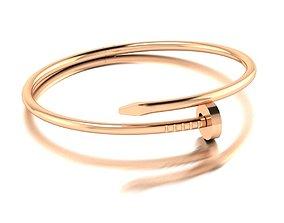 Nail bracelet 2size 3D print model
