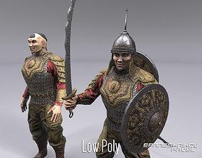 3D asset Mongol