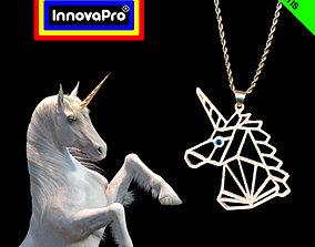 Unicorn Pendant 3D printable model