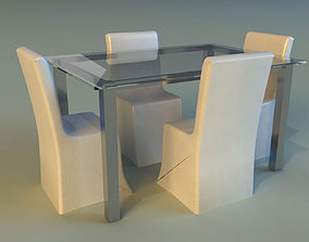 3D furniture large Table