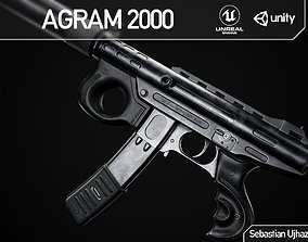 realtime Agram 2000 - Game Ready PBR Asset