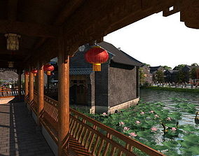 Ancient Chinese Gardens 35 3D model