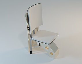 3D model Modern Table and chair