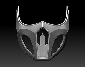 3D printable model Scorpion mask for cosplay 4