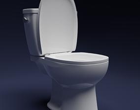 toilet-paper shower 3D Toilet