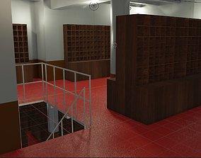 Titanic Mail Room 3D asset
