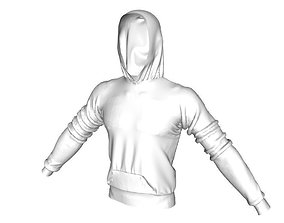 Realistic Sweatshirt 3D asset
