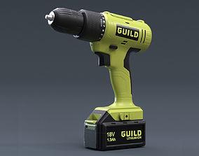 Guild Drill 3D model VR / AR ready