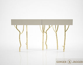 3D Ginger and Jagger fig tree console