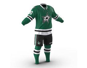 Hockey Clothes Dallas Stars 3D