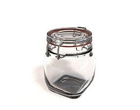 Glass Jar - small 3D model