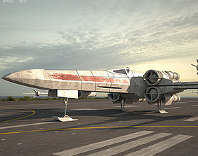 T-65 X-wing Fighter 3D