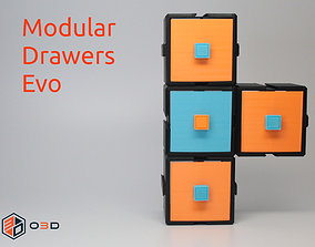 3D print model Modular Drawers Evo