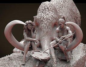 HALT prehistoric 3D print model