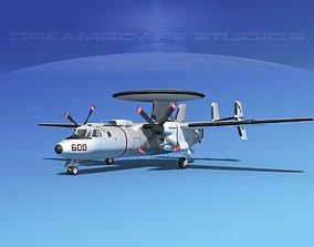 3D Grumman E-2C Hawkeye V08