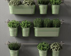 plants set 08 3D model