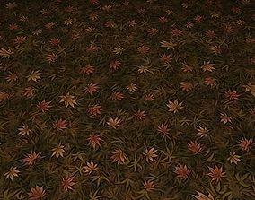 ground leaf tile 18 3D