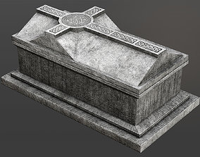 Celtic Chest Tomb 3D model