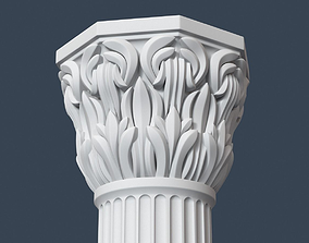 Composite Order Column 006 3D